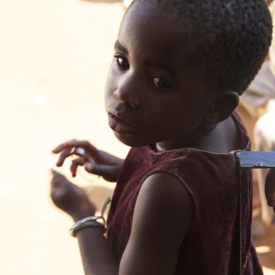 Flyktingbarn från Kongo