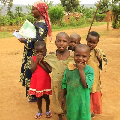 flyktingar i nakivale, uganda