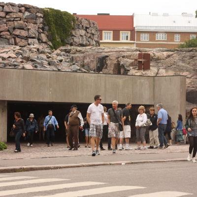 Tempelplatsens kyrka i Helsingfors sommaren 2012