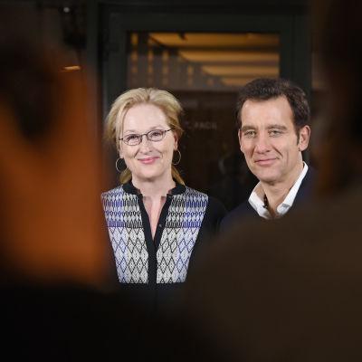 Meryl Streep och Clive Owen i Berlin.