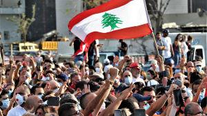 Libanon har hela året skakats av massiva protester och krav på politiska reformer som trappades upp efter explosionen i Beirut i början av augusti.