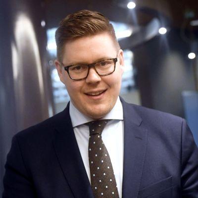 Antti Lindtman, ordförande för SDP:s riksdagsgrupp.