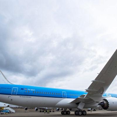 Holländska flygbolaget KLM har skaffat Boeing 787 Dreanliner