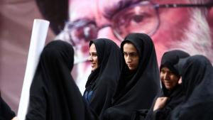 Iranska studerande.