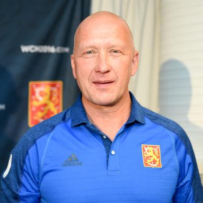 Jarmo Kekäläinen inför landslagsturneringen World Cup.