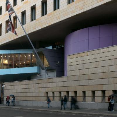 Storbritanniens ambassad i Berlin.