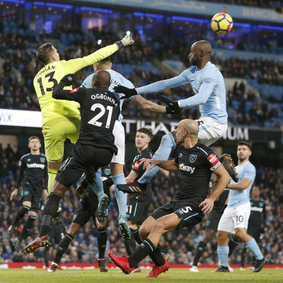 Manchester City - West Ham.