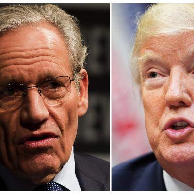 """Den amerikanske journalisten Bob Woodwards bok om Donald Trump under titeln """"Fear"""" ges ut nästa vecka."""