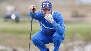 Mikko Ilonen är Finlands OS-representant i golf.