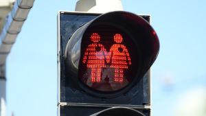 Gay-vänliga trafikljus
