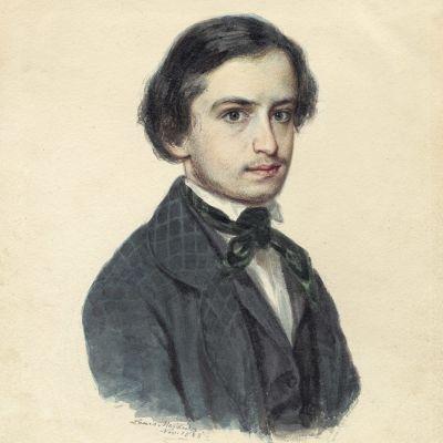 Edvard Flygare, sonen som blev endast 23 år gammal, Louis Meidner. Finns på Kungliga biblioteket.