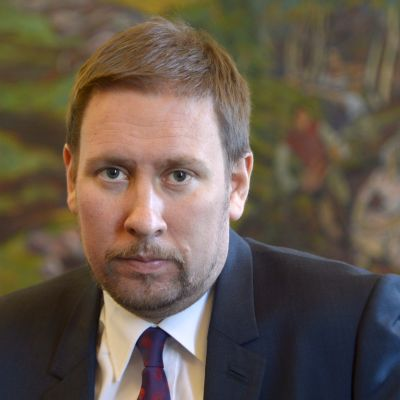 Paavo Arhinmäki i mars 2014.