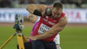 Tomas Stanek slutade fyra i VM-finalen i kula men frågan är om han egentligen borde firat ett silver.