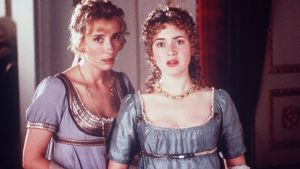 Emma Thompson och Kate Winslet i filmen Sense and Sensibility.