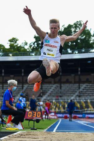 Kristian Pulli blev trea i Stockholm.