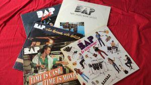Skivkonvolut av det tyska rockbandet BAP