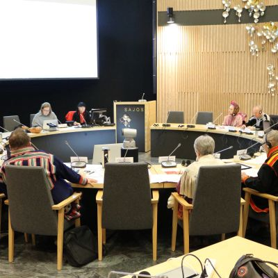 Saamelaiskäräjien 2016-2019 viimeinen kokous 17.12.2019.