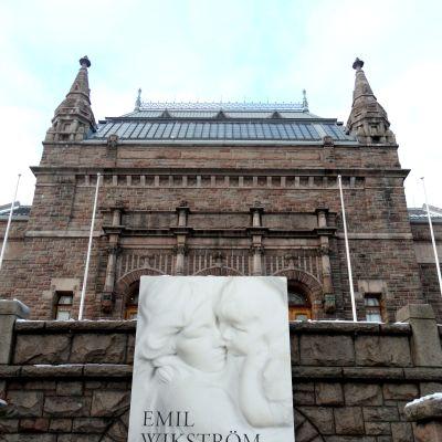 Emil Wikström på Åbo konstmuseum