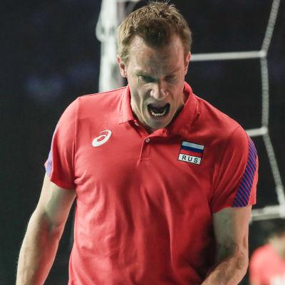 Tuomas Sammelvuo i ryska landslaget.