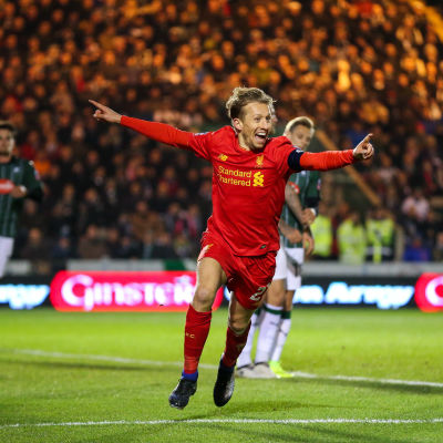 Lucas Leiva firar mål