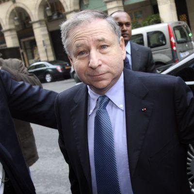Jean Todt, ordförande för FIA