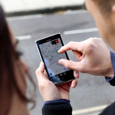Navigering med Nokia Lumia 925.
