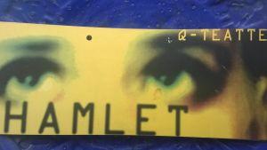 Programbladet till Hamlet.