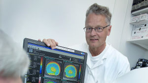 Timo Tervo, professor i trafikmedicin.