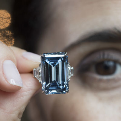 Diamanten Oppenheimer Blue.
