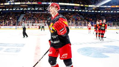 Mikko Lehtonen i Jokerit har gjort mål.