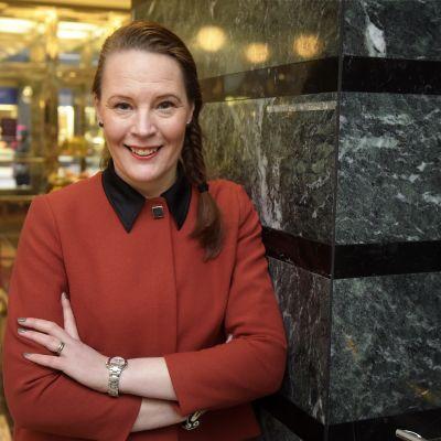 Svenska Kvinnoförbundets ordförande Anna Jungner-Nordgren.