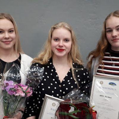Puhetaitokilpailun voittajat 2019