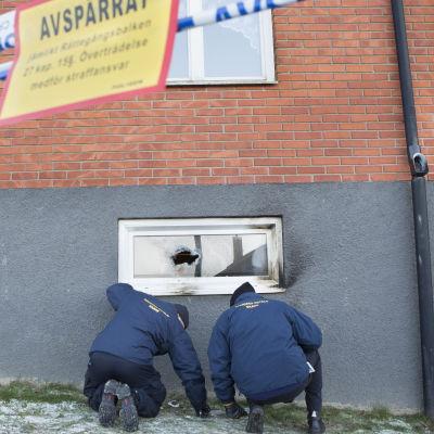 Avspärrning av polisen