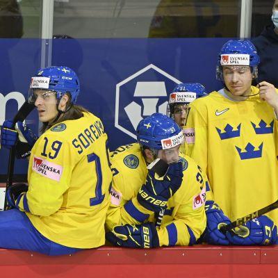 Ruotsin joukkue pettyneenä