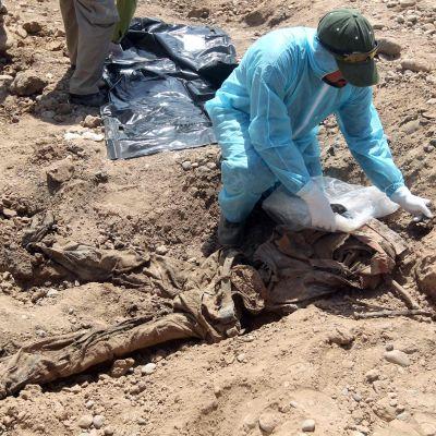 Massgrav i Irak