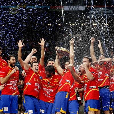 Spanien vann VM-guld på hemmaplan 2013.