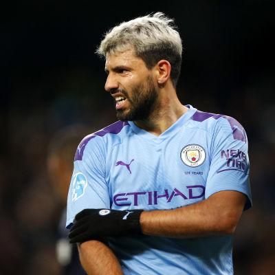 Sergio Aguero i Manchester City