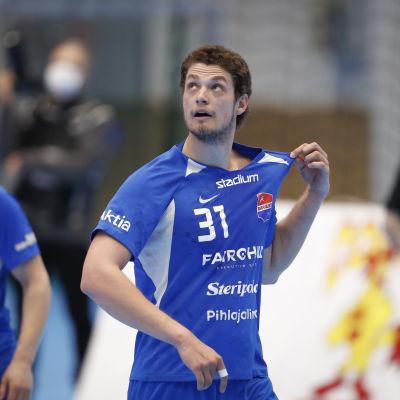 Max Granlund och Filip Söderlund under säsongen 2020-2021.