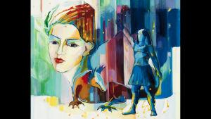 """Velina Grebenskas målning """"Den gyllene natten""""."""