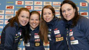 Kerttu Niskanen, Krista Pärmäkoski, Laura Mononen, Aino-Kaisa Saarinen.