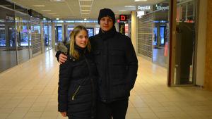 Jenni Bjondahl och Tomas Haglund.
