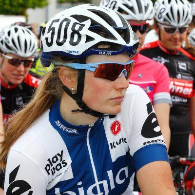 Cyklisten Lotta Lepistö deltar vid OS i Rio de Janeiro.