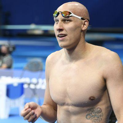 Matti Mattsson Tokion olympialaisissa.