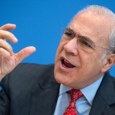 OECD:s generalsekreterare Angel Gurria