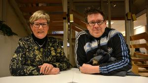 Lea Adolfsson och Kenneth Lindholm i Fredagssnack 12.2.2016