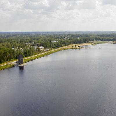 Kyrkösjärven pato