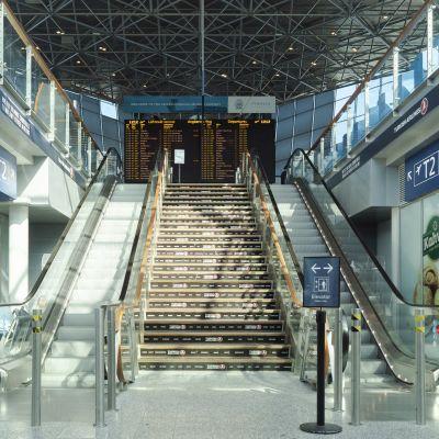 Bild från Helsingfors-Vanda flygplats.