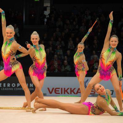 Finlands landslagstrupp i rytmisk gymnastik, februari 2016