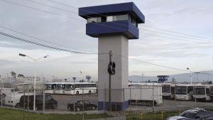 Altiplanofängelset i Mexiko där knarkbossen Joaquín Guzmán hölls fången.
