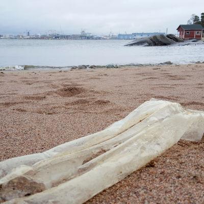 städning av strand